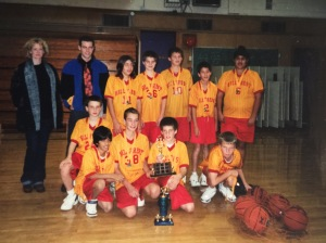 The first team I ever coached - Grade 7 Hillcrest Elementary.